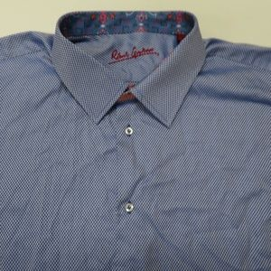 Robert Graham Flip Cuff L/S Button Down Shirt 3XL